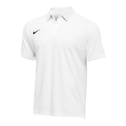 Men`s Team Dry Tennis Polo White