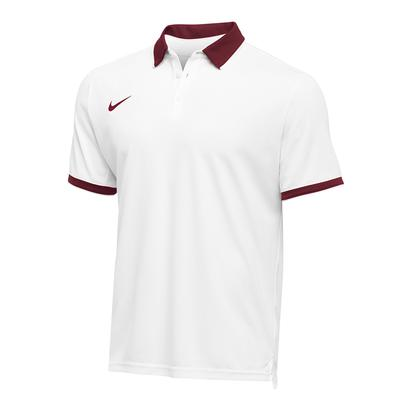 Men`s Team Dry Tennis Polo Cardinal