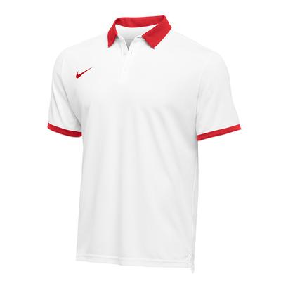 Men`s Team Dry Tennis Polo Scarlet