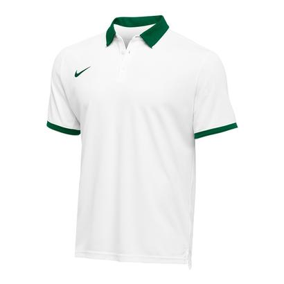 Men`s Team Dry Tennis Polo Dark Green