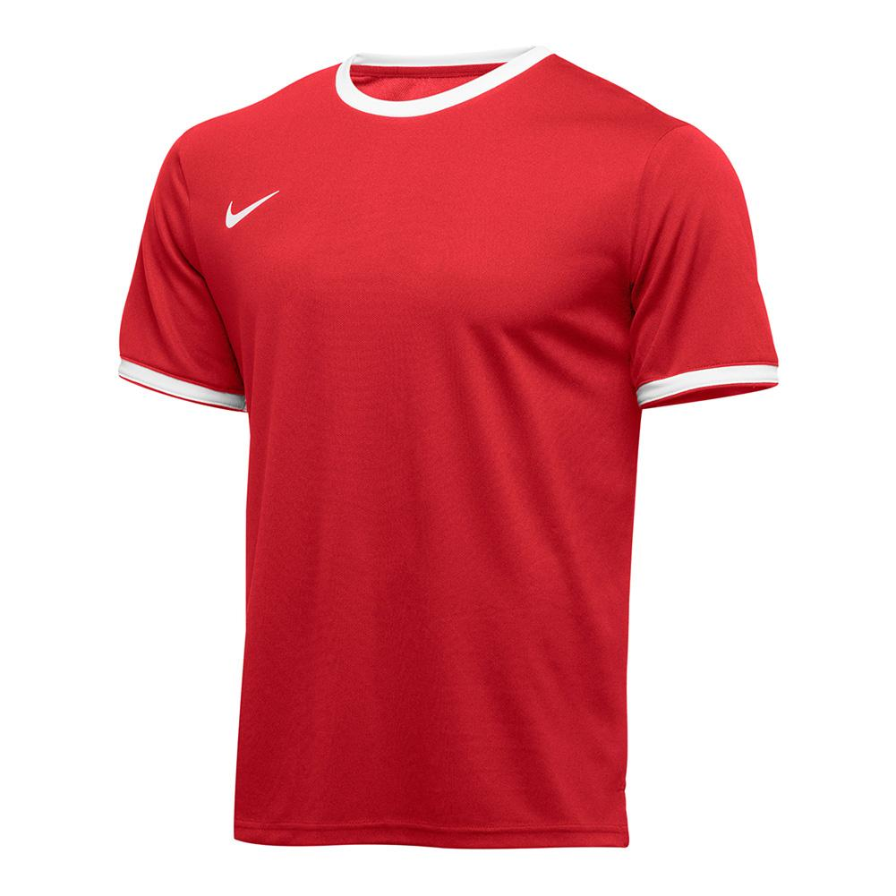 Men's Team Dry Tennis Top Scarlet