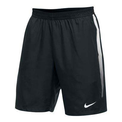 Men`s Team Dry 9 Inch Tennis Short Black