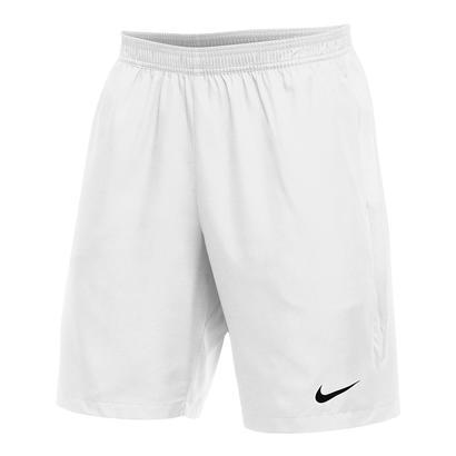 Men`s Team Dry 9 Inch Tennis Short White