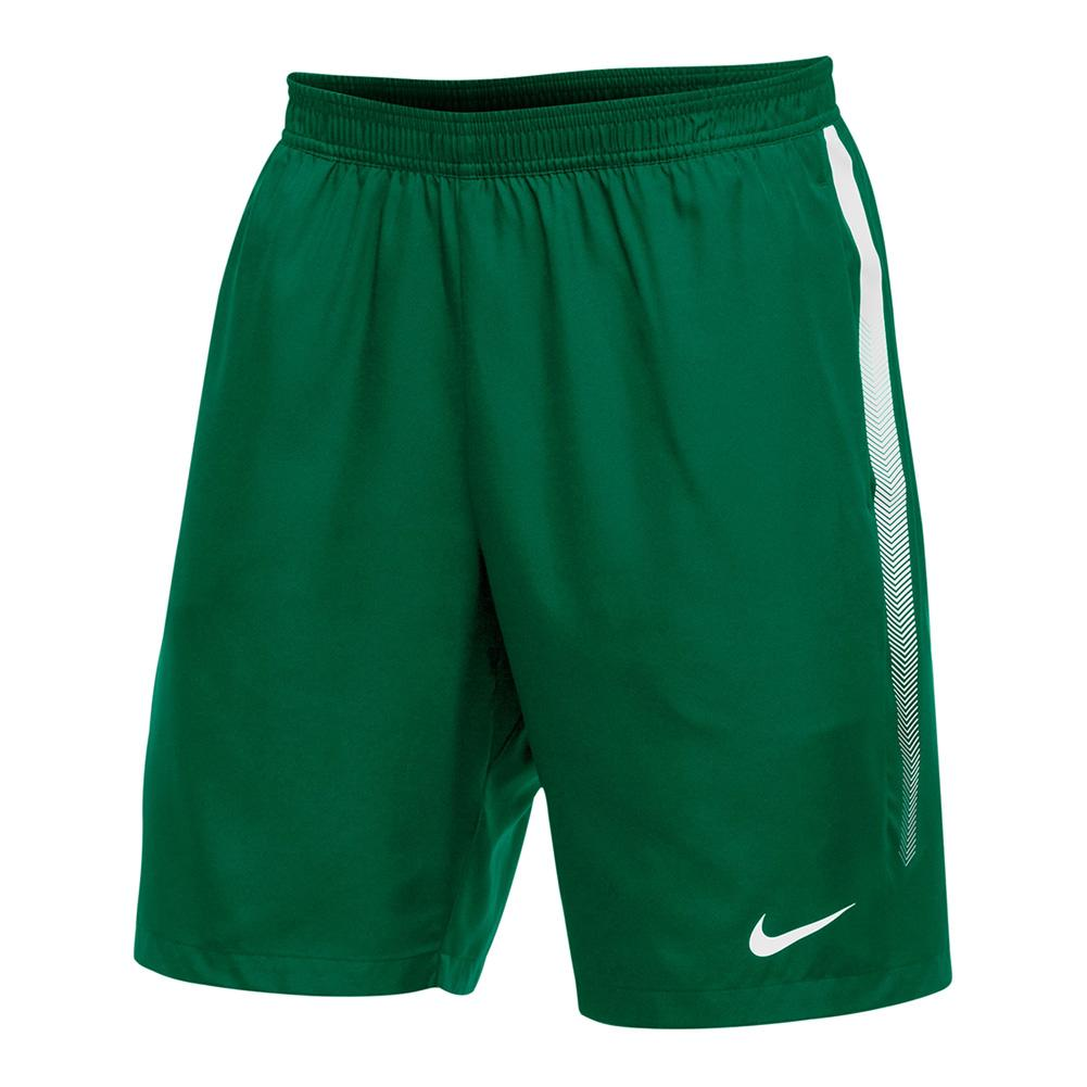 Men's Team Dry 9 Inch Tennis Short Dark Green