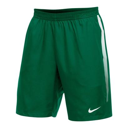 Men`s Team Dry 9 Inch Tennis Short Dark Green