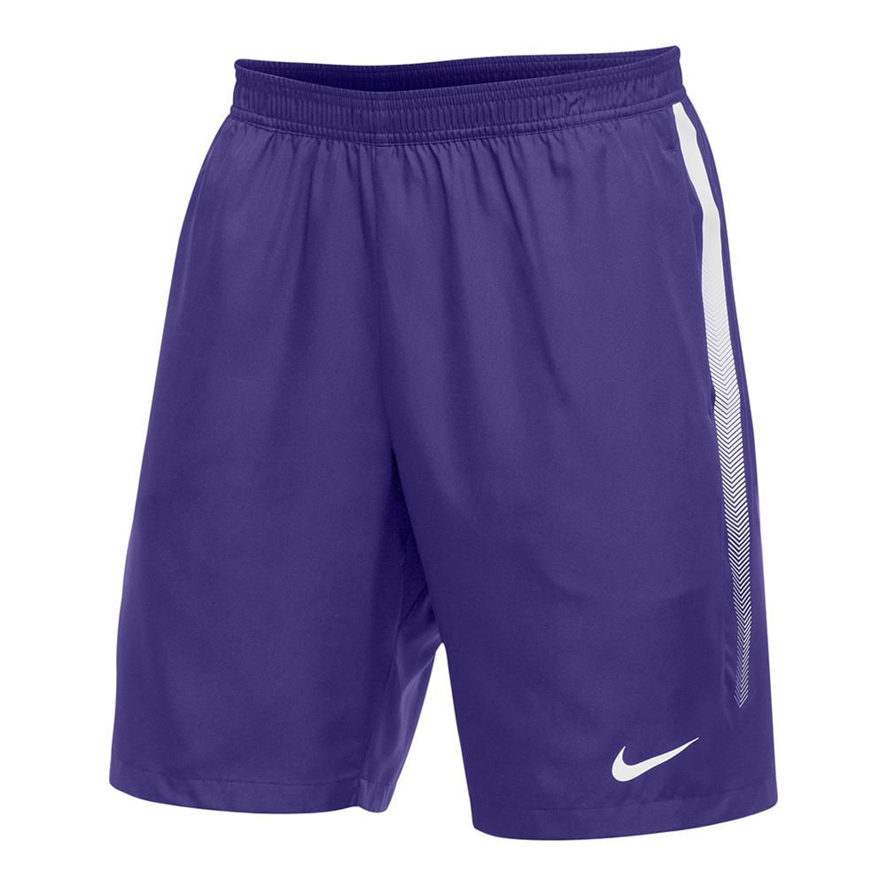Men's Team Dry 9 Inch Tennis Short Purple