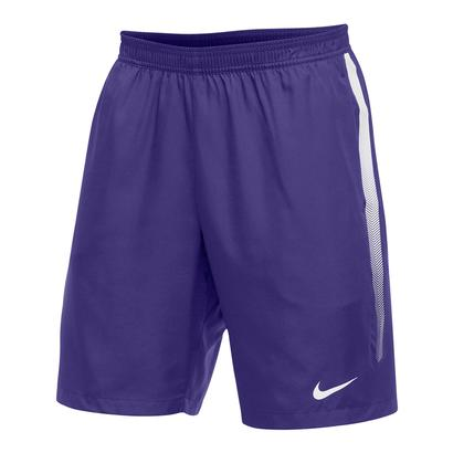 Men`s Team Dry 9 Inch Tennis Short Purple