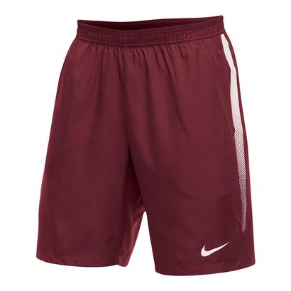Men`s Team Dry 9 Inch Tennis Short Cardinal