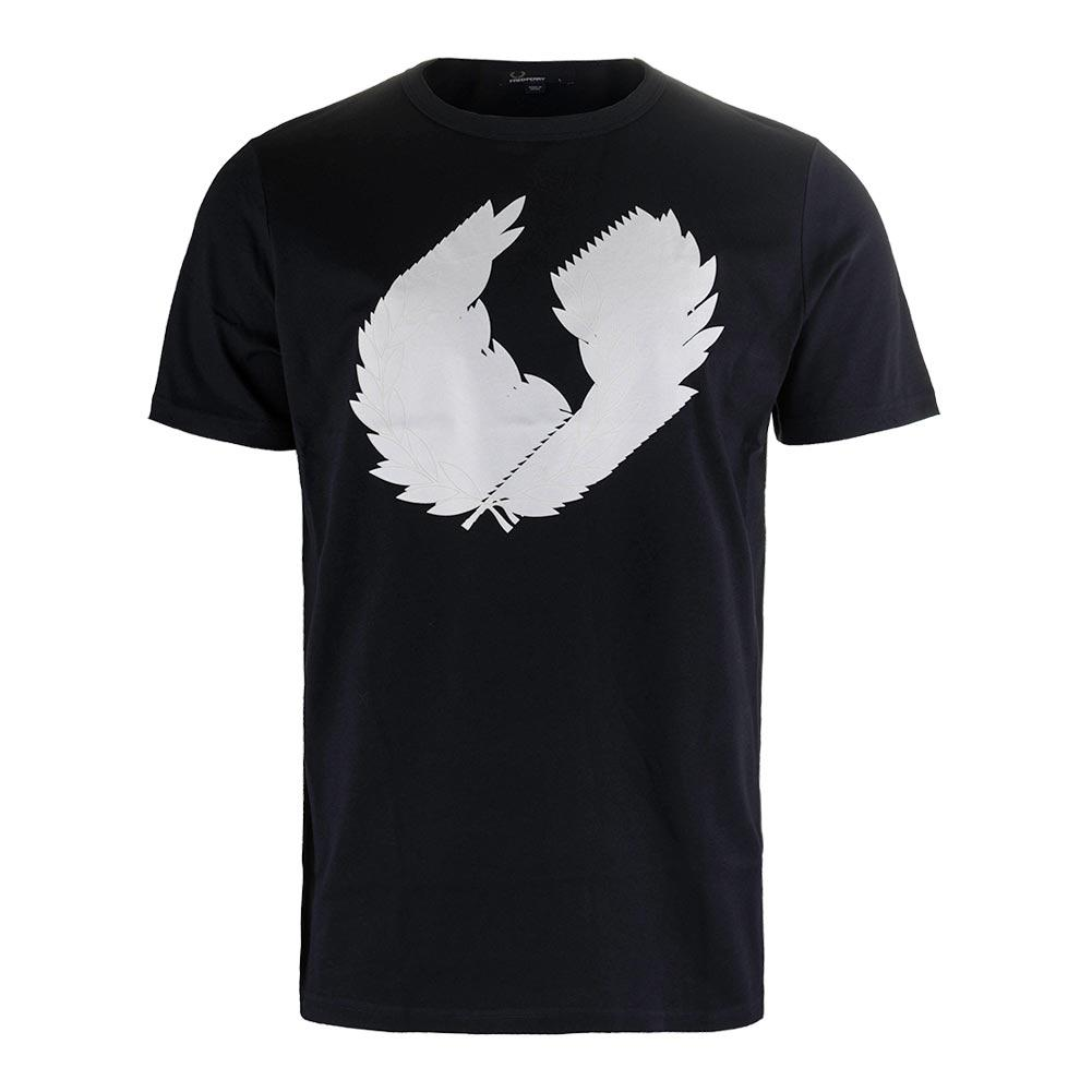 Men's 3d Laurel Wreath Tennis Tee Navy