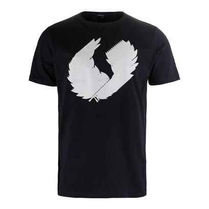 Men`s 3D Laurel Wreath Tennis Tee Navy