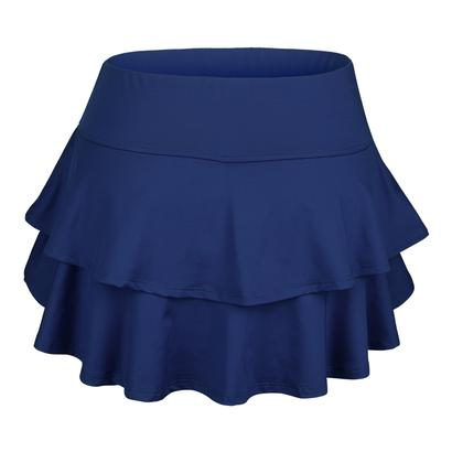 Women`s Belle Flounce Tennis Skort Navy