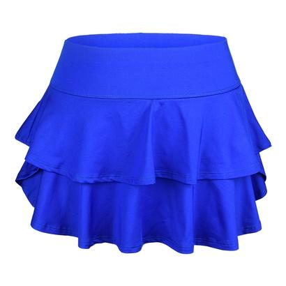 Women`s Belle Flounce Tennis Skort Royal