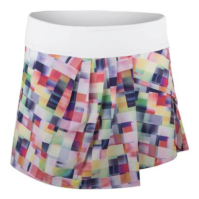 Women`s Speed Tennis Skort Pixel Print