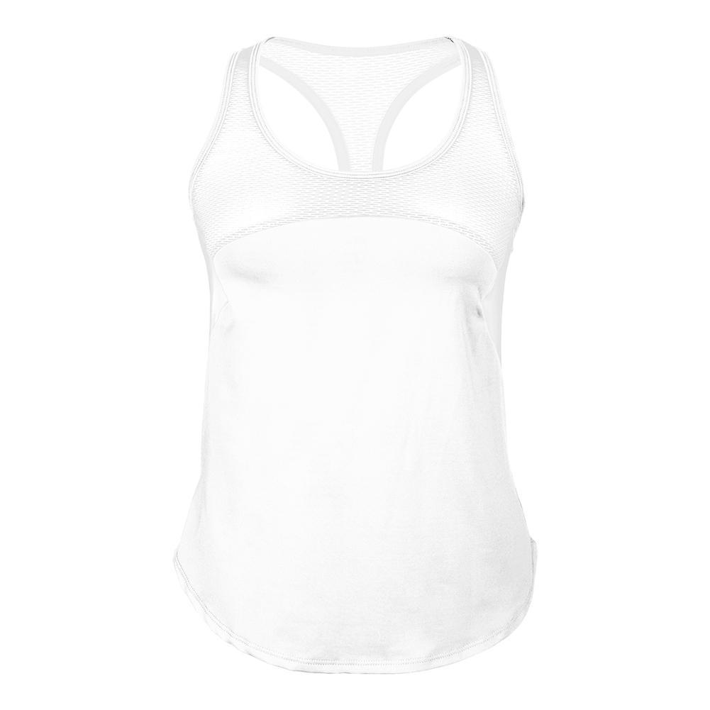 Women's Refreshing T- Back Tennis Racer White