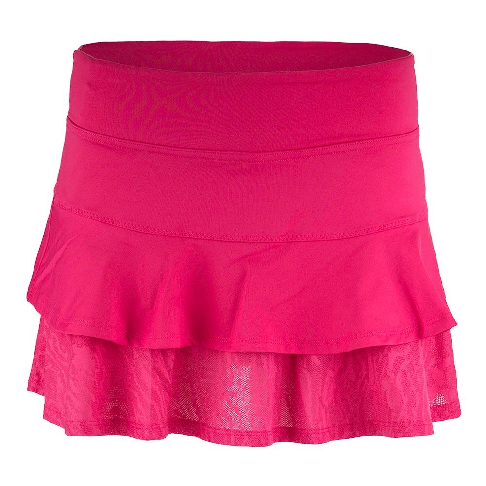 Women's Match Tennis Skort Rose