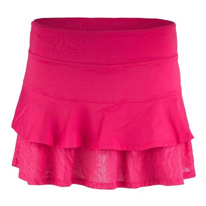 Women`s Match Tennis Skort Rose