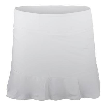 Women`s Curve Tennis Skort White