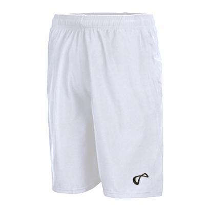 Boys` Woven Tennis Short White