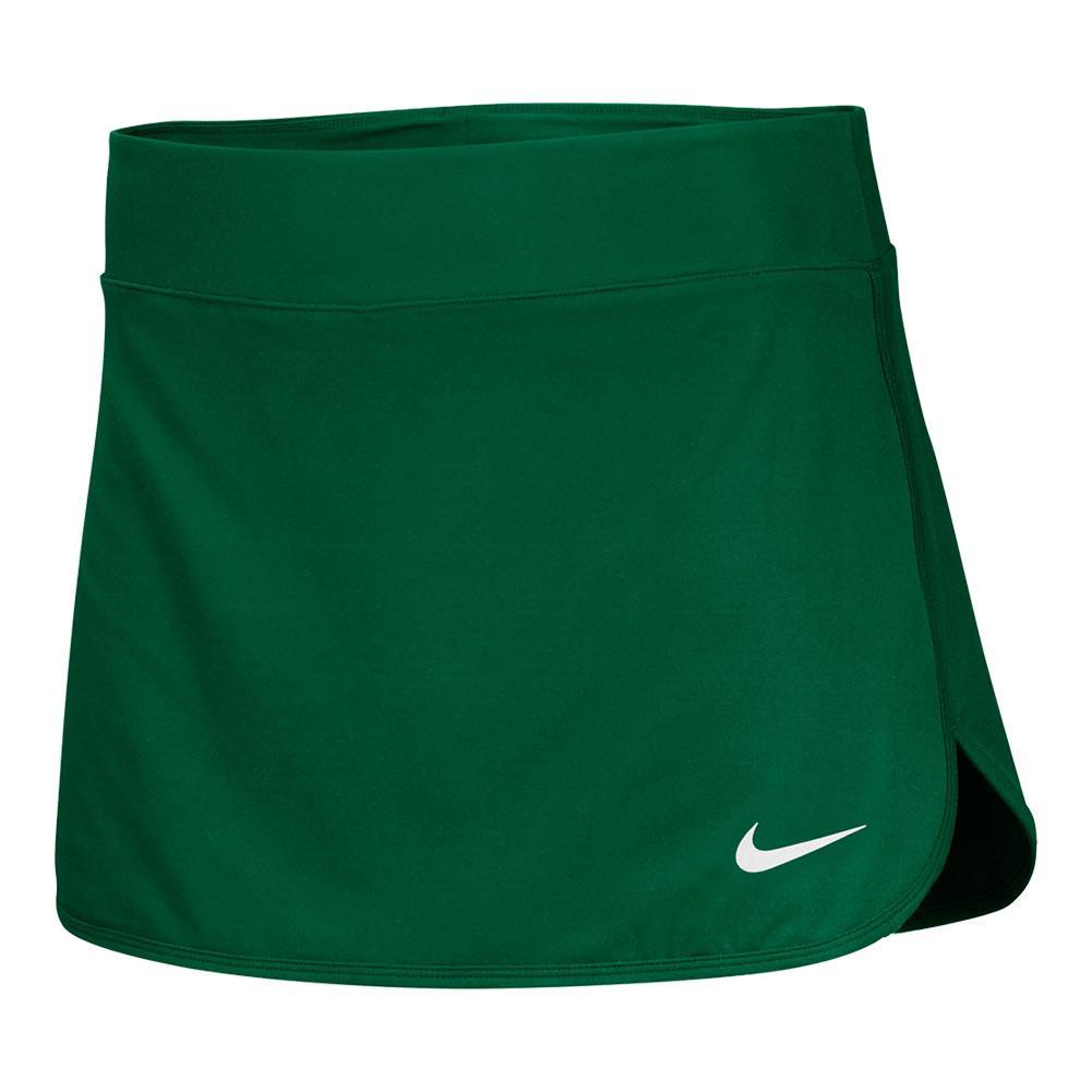Women's Team Pure Tennis Skort Dark Green