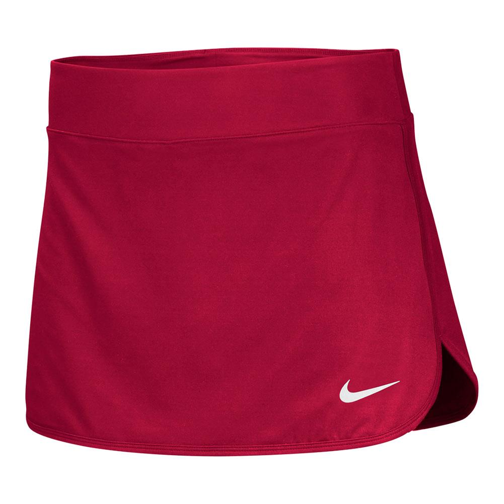 Women's Team Pure Tennis Skort Scarlet