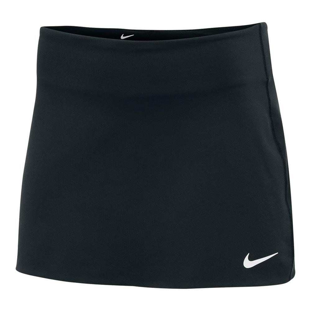 Women's Power Spin Tennis Skort Black