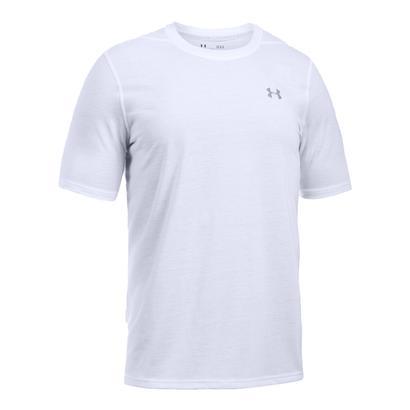 Men`s Threadborne Short Sleeve Top White
