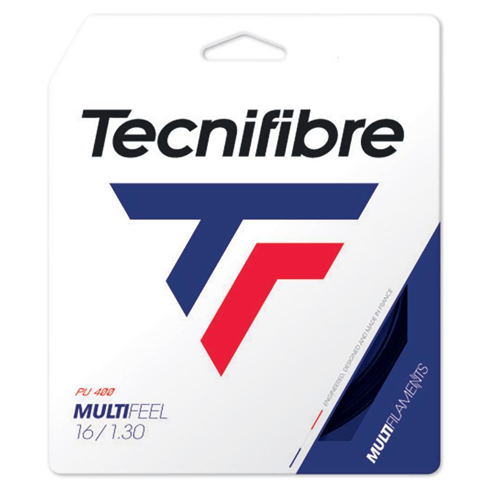 Multi- Feel Tennis String Black