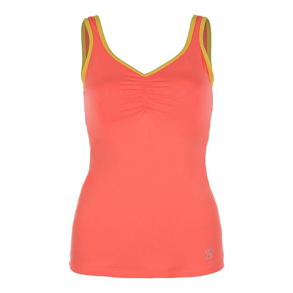 Women's Athletic Tennis Cami Sorbet