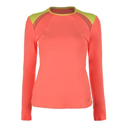 Women`s Classic Long Sleeve Tennis Top Sorbet