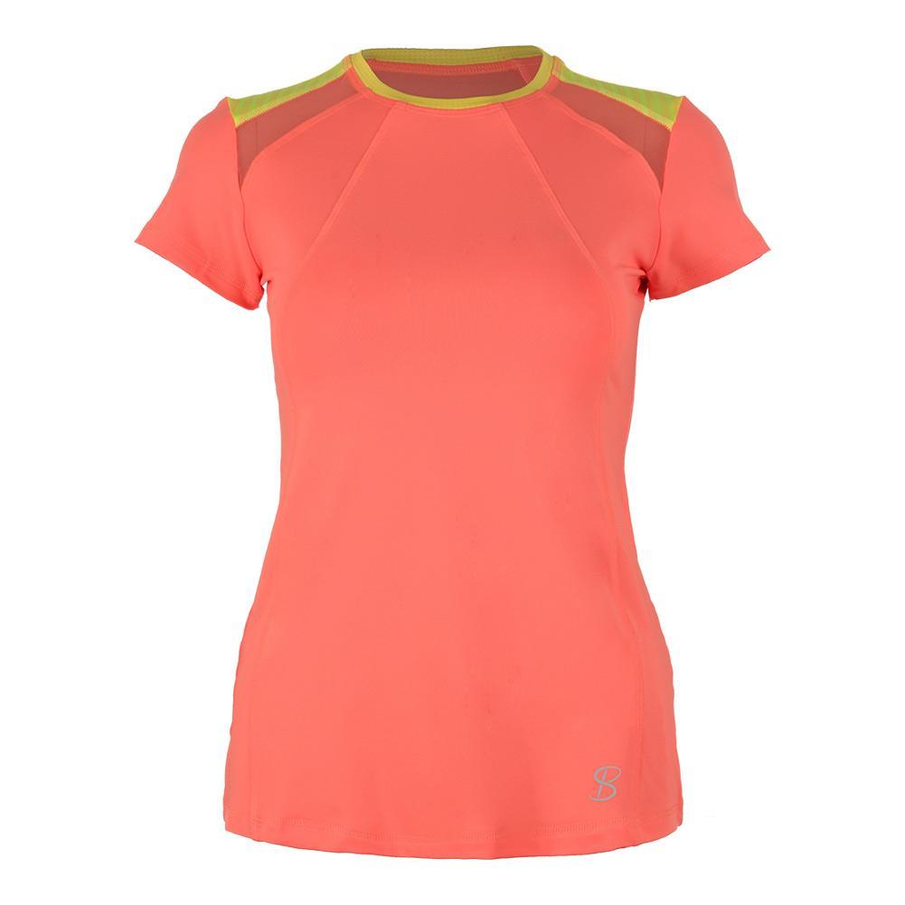 Women's Classic Short Sleeve Tennis Top Sorbet