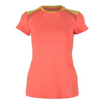 Women`s Classic Short Sleeve Tennis Top Sorbet