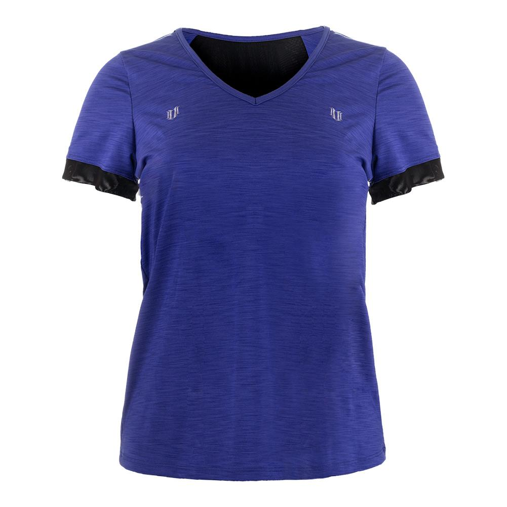 Women's Intensity Short Sleeve Tennis Top Royal