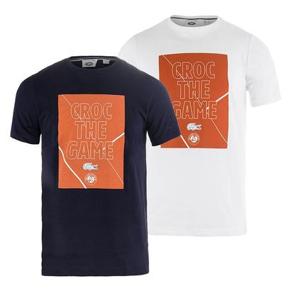 Men`s Croc the Game Graphic Tennis Tee