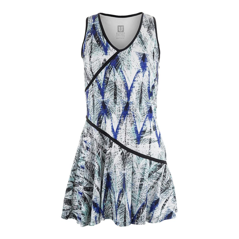 Women's Clarity Tennis Dress Diamond Print