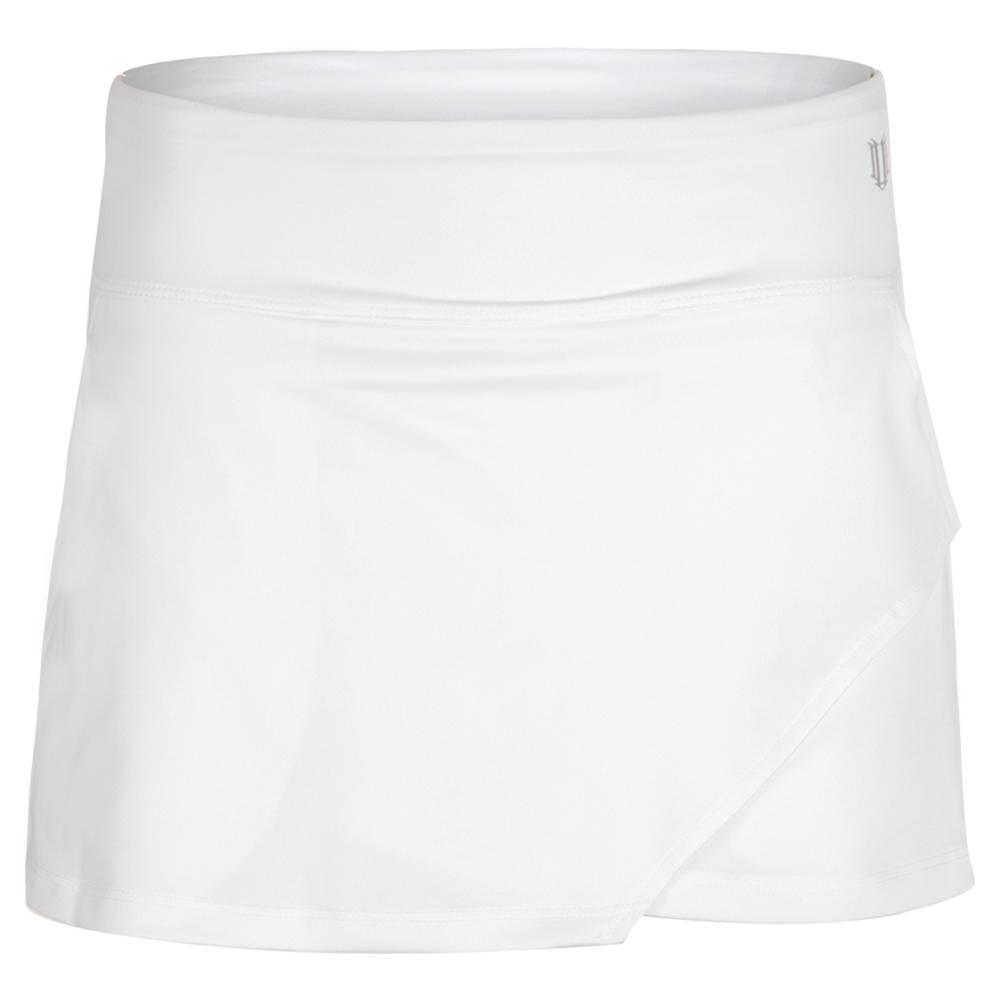 Women's Fly 13 Inch Tennis Skort White