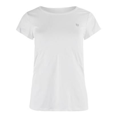 Women`s Jala Short Sleeve Tennis Top White