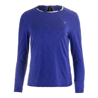 Women`s Xtreme Long Sleeve Tennis Top Royal