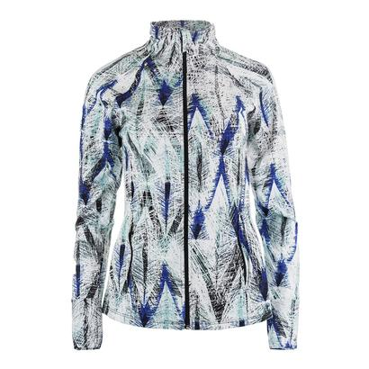 Women`s Finish Line Tennis Jacket Diamond Print