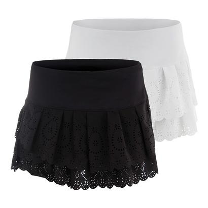Women`s Laser Pleat Tier Tennis Skort