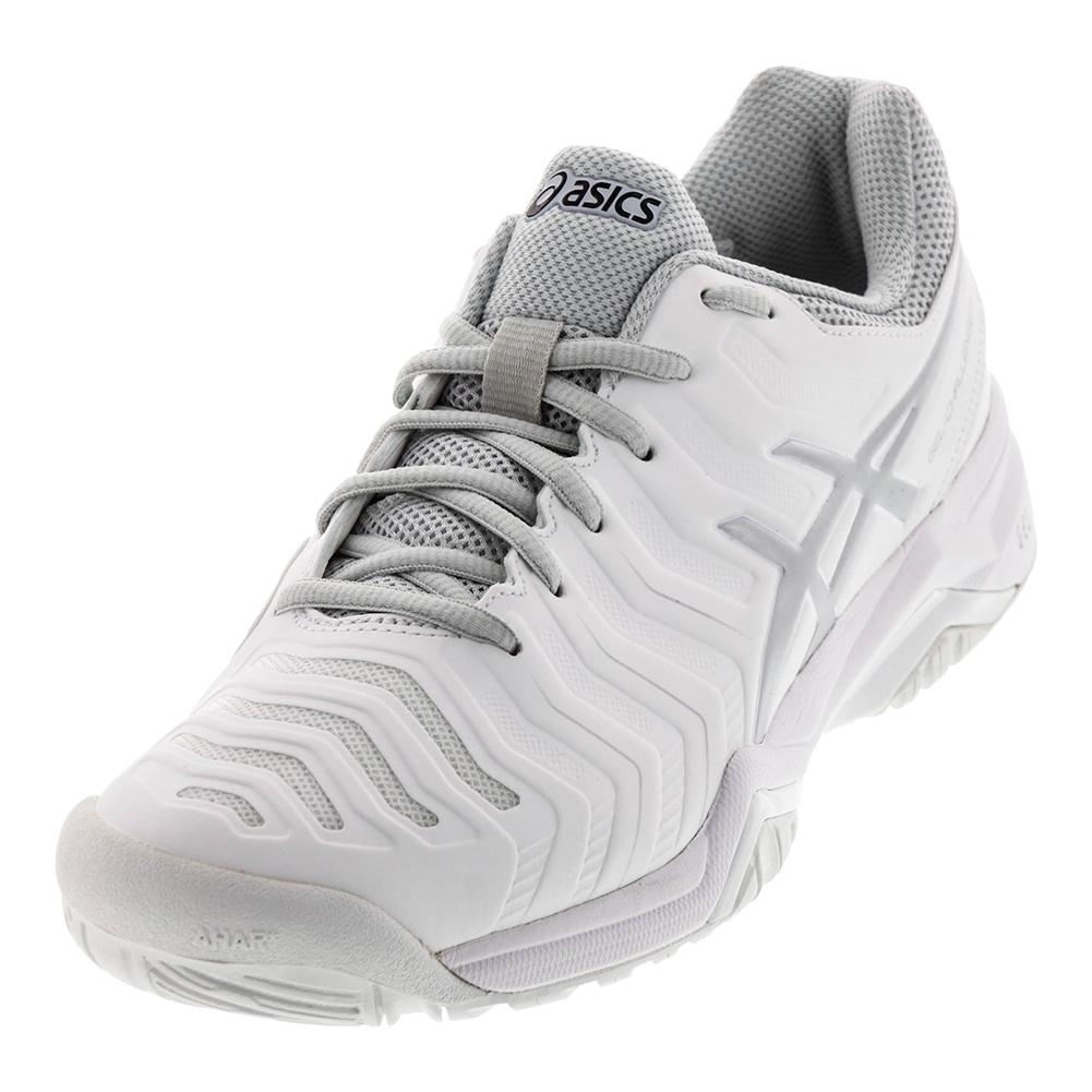 Men's Gel- Challenger 11 Tennis Shoes White And Silver