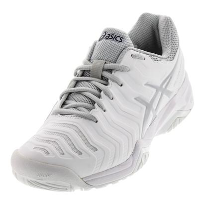 Men`s Gel-Challenger 11 Tennis Shoes White and Silver