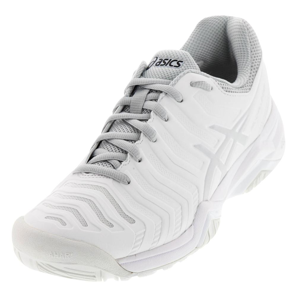 Women's Gel- Challenger 11 Tennis Shoes White And Silver