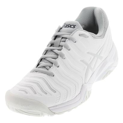 Women`s Gel-Challenger 11 Tennis Shoes White and Silver