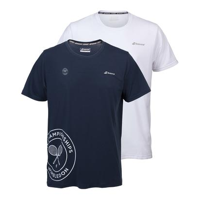 Men`s Wimbledon Pure Tennis Tee