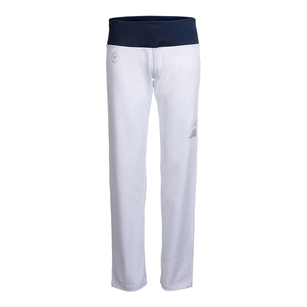Women's Wimbledon Perf Tennis Pant White