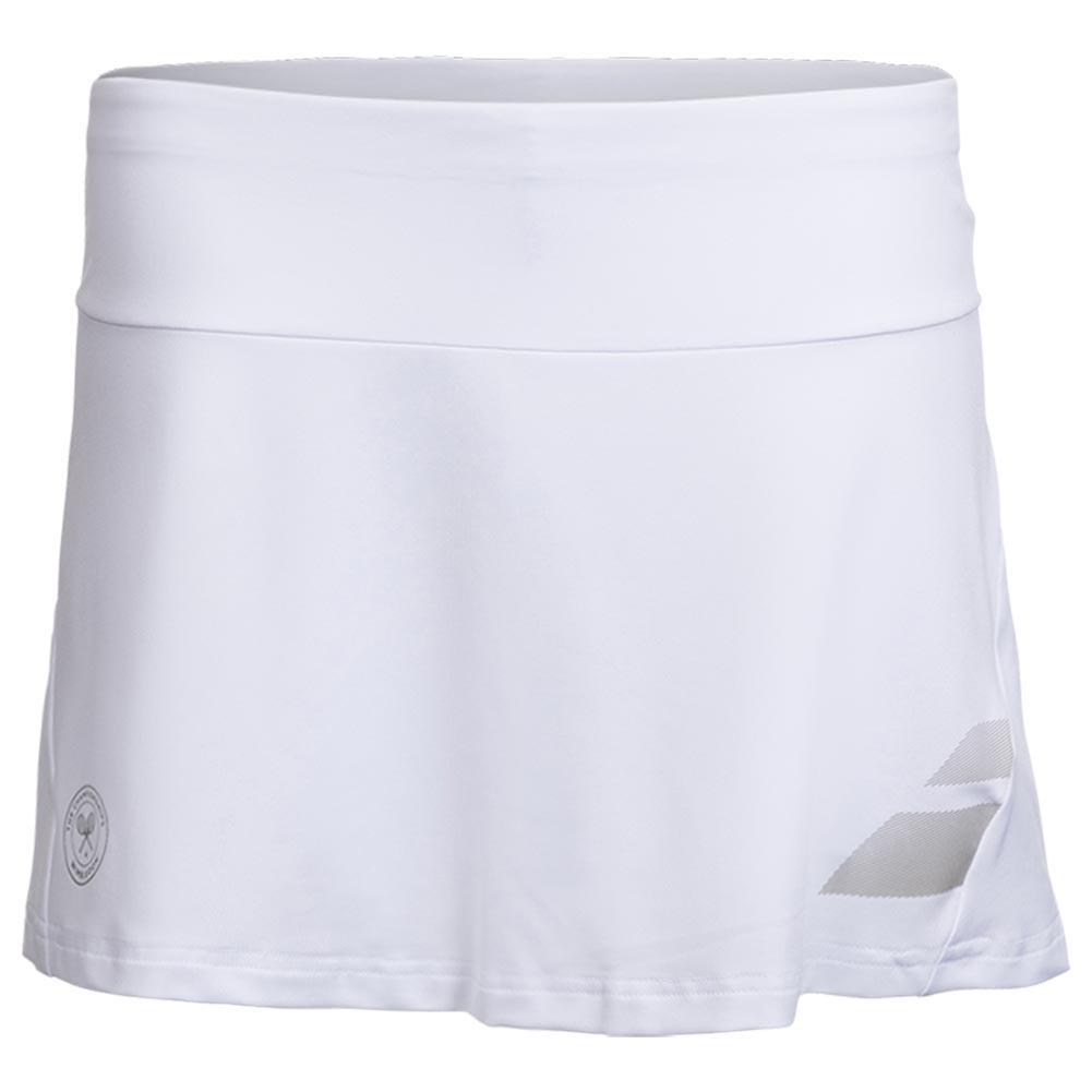 Women's Wimbledon Perf Tennis Skort White