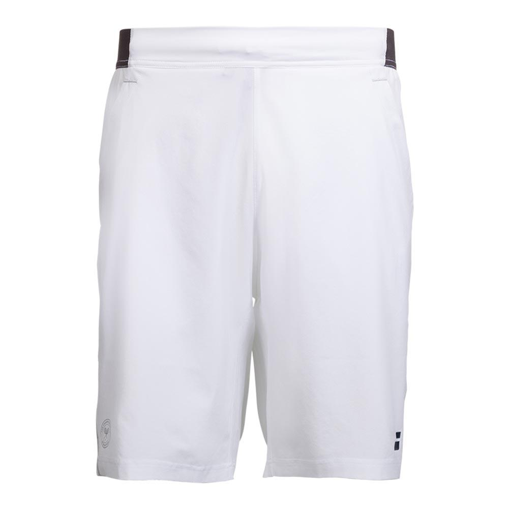 Boys ` Wimbledon Perf Xlong Tennis Short White