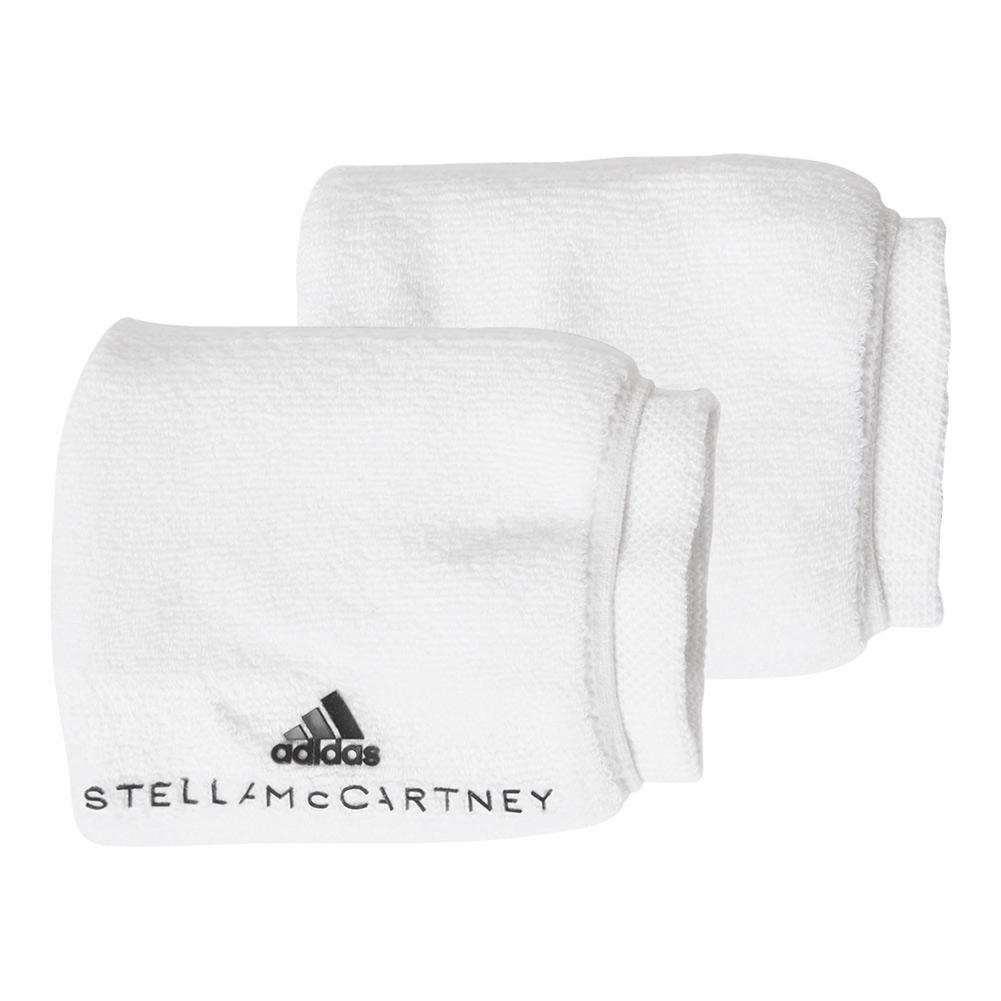 Women's Stella Mccartney Tennis Wristband White And Legend Blue