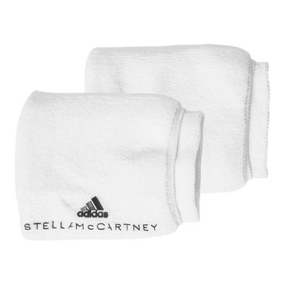 Women`s Stella McCartney Tennis Wristband White and Legend Blue