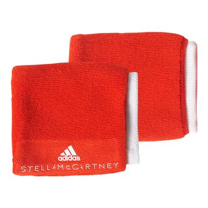 Women`s Stella McCartney Tennis Wristband Core Red and White